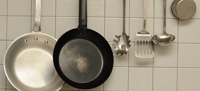 厨房の調理器具